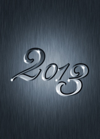 creative  new year 2013 design  photo