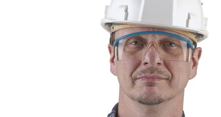 Portrait of a technician isolated Stock Photo - 17205345