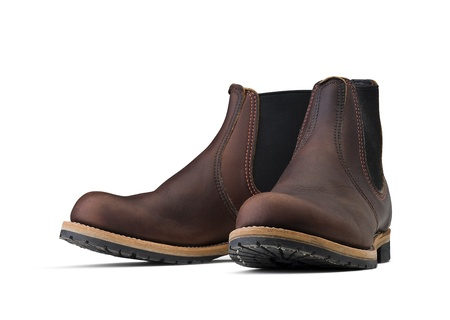 brune: Pair of brown boots