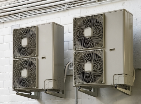 climatiseur air conditioner Stock Photo