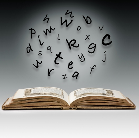 Letters mystics with a missel