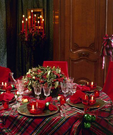 Christmas table Stock Photo - 17363858