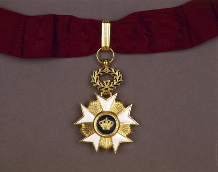 valor: A golden awarded for valor in action.