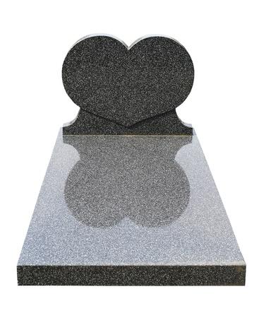 1 つの墓の石 (クリッピングパス) をカット
