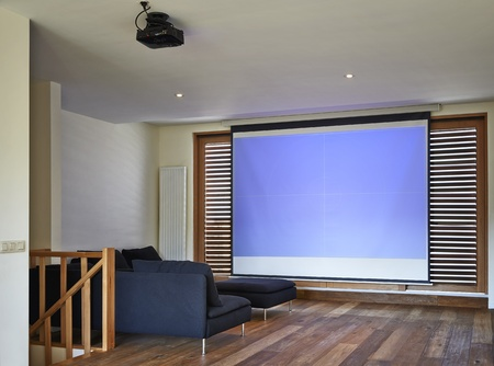 Home Theater in New Home photo