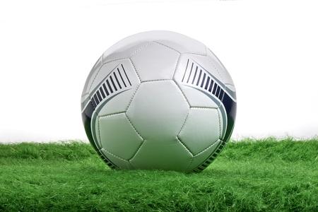 soccer ball on green grass Stock Photo - 20234807