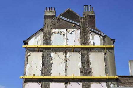 housing demolition site Stock Photo - 22006364