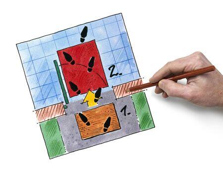 floorplan: Ground Floor Plan Floorplan House Home Building Architecture  Layout