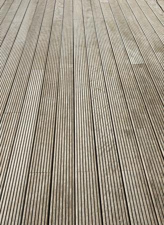 Plancher de bois Terrasse fond brun