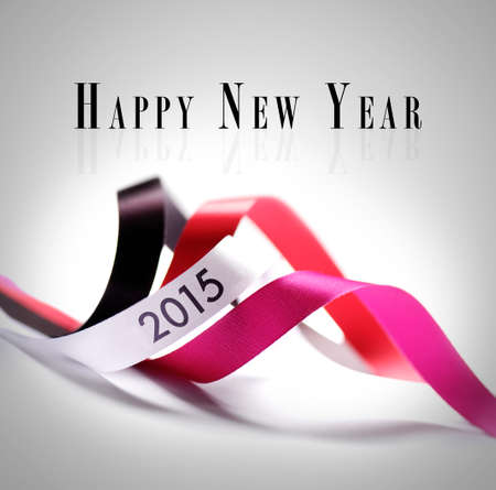Greeting Card - Happy New Year 2015 photo