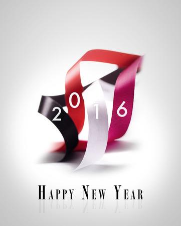Gruß-Karte - Frohes Neues Jahr 2016