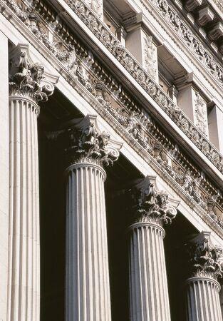 corinthian: Corinthian Columns in Rome, Italy