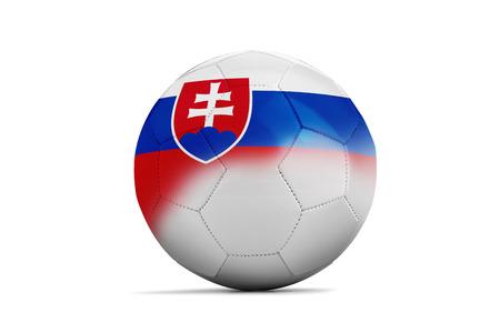 group b: Soccer balls with team flags, Football Euro 2016. Group B, Slovakia