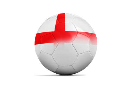 b ball: Soccer balls with team flags, Football Euro 2016. Stock Photo