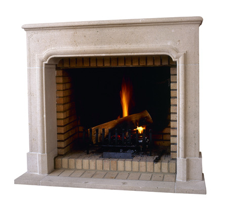 fireplace: Old and vintage Marble fireplace