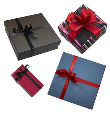 Some Luxurious gift box on white background Standard-Bild