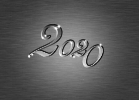 creative  new year 2014 design. Stock fotó