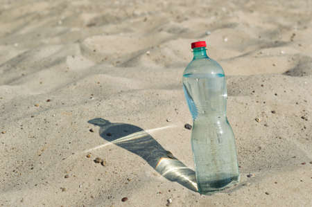 mouthful: a bottle of water in the desert