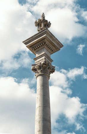 pilasters: travel to Lviv Stock Photo