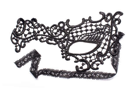intrigue: carnival mask of lace