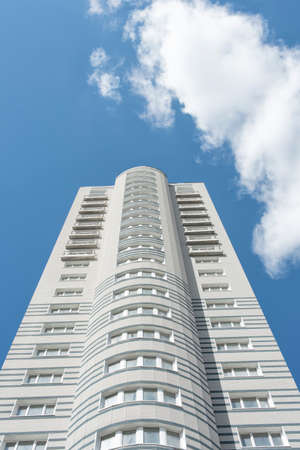 Kiev city modern architecture Editorial