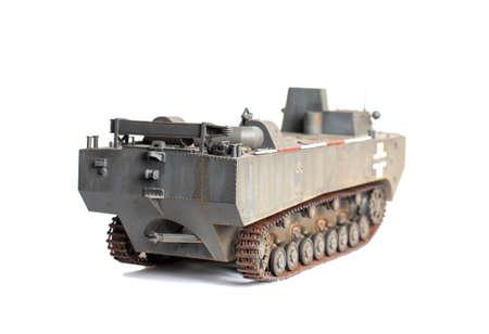 Scale model of old vehicle Фото со стока