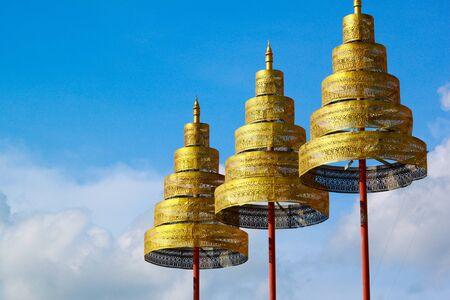 Top of Thai temple photo
