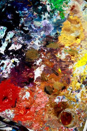 artist's oil paint Stock Photo - 8533487