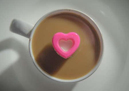 A Heart Coffee Mug