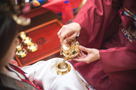 traditional culture: Traditional wedding in Korea