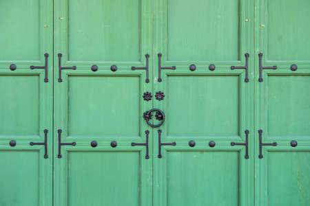 korean style house: Traditional Korean style door at Gyeongbokgung Palace in Seoul, South Korea.