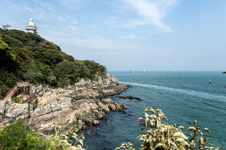 The beautiful island of Korea, Odongdo Island, Sicheong-ro, Yeosu-si, Jeollanam-do, Korea