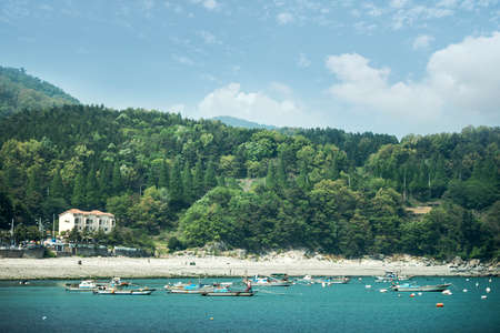 The beautiful island of Korea, Yeosu-si, Jeollanam-do, Korea