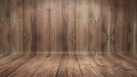Curved wooden background Фото со стока - 40048979
