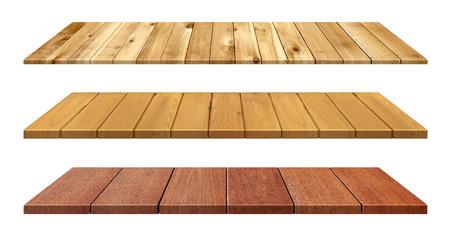 Dřevěný stůl Reklamní fotografie