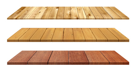 wooden boards: Wooden table