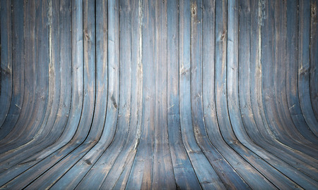 curve: Curved wooden background