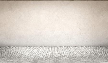 muro de hormigón y el suelo de fondo Foto de archivo