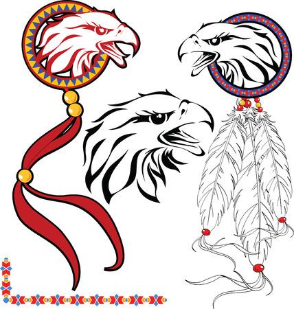 garra: El conjunto completo de color vector bocetos para tatuaje