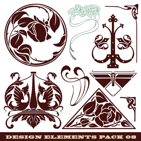 topics: set: elements for design on different topics