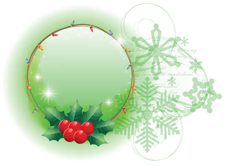 Elegant background Christmas, New Year and winter theme for decoration and design Stock Vector - 8266661