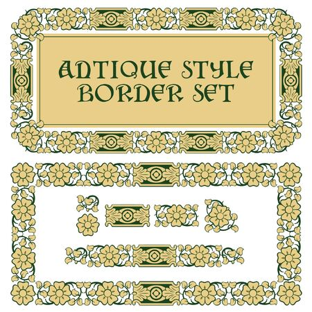 pattern in vintage style for decoration and design Stock Vector - 9609074