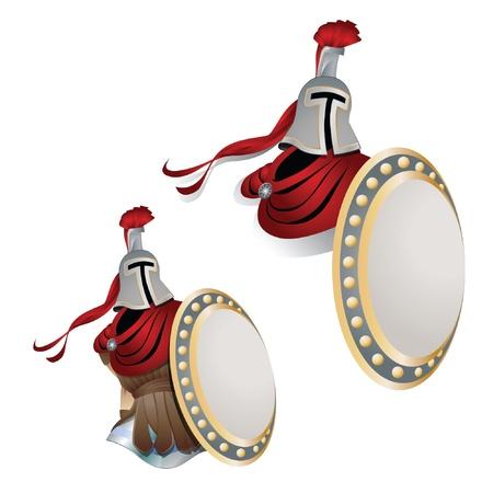 cavaliere medievale: Illustrazione del cavaliere per la progettazione del vostro lavoro e decorazione