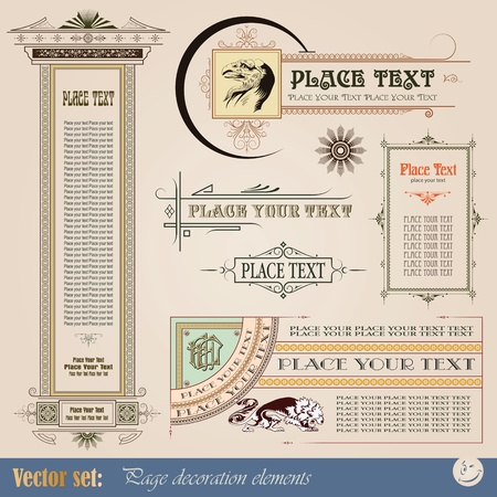 Template for the design of advertisements and other online or printed products  Stock Illustratie