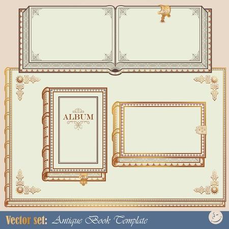 copertina libro antico: Libri antichi modelli per la progettazione del tuo lavoro