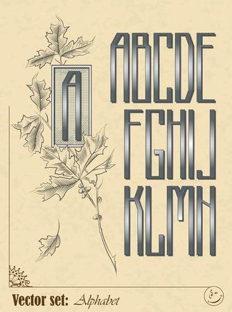 them: Set di lettere dell'alfabeto inglese alfabeto sfondo per loro