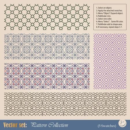 seamless pattern for decoration and design Vector