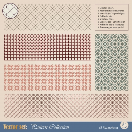 art deco border: seamless pattern for decoration and design