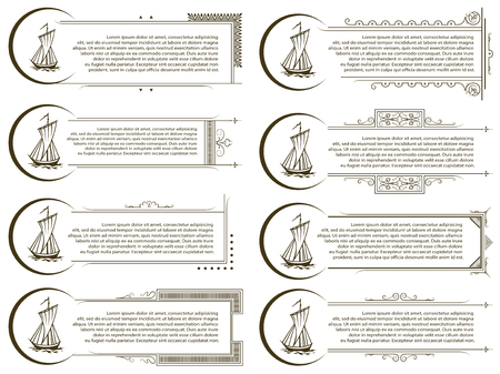 amount: Vector template for the design of advertisements, envelope, wedding  and other invitations or greeting cards