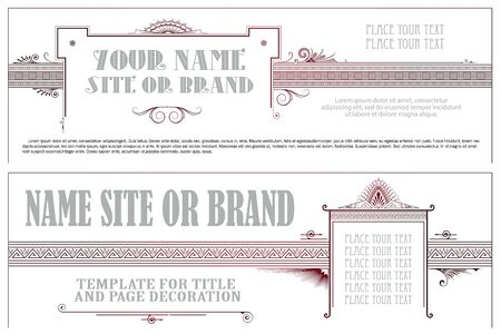 flayer: Vector template for the design of advertisements flayer web envelope wedding  and other invitations or greeting cards